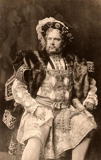 William Charles James Terriss as King Henry VIII