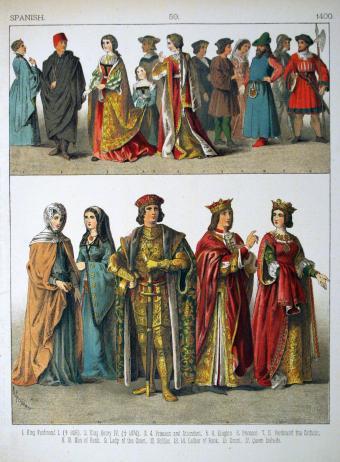 Spanish dress, 15th century