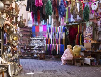 Moroccan market