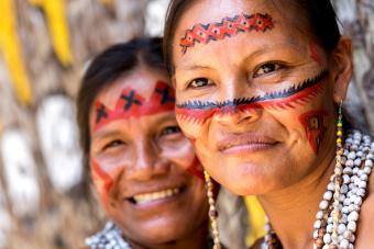 Native Brazilian women