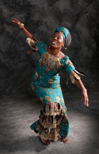 Afrocentric dancer