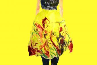 Art Deco skirt