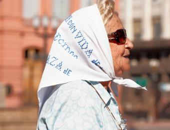 Mother of the Plaza de Mayo