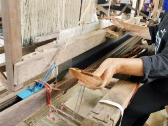 Hand Made Cotton Weaving