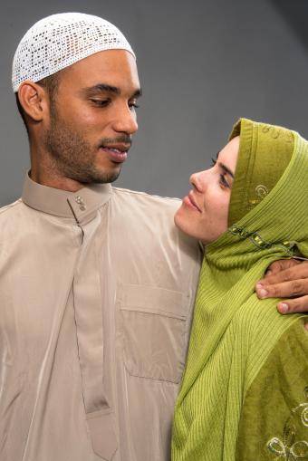 muslim couple