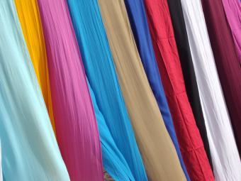 glazed fabrics