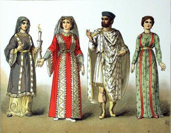 Europe and America: History of Dress (400-1900 C.E.)
