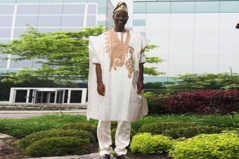 Traditional Agbada Wear