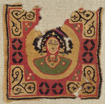 6th-7th century linen and wool fragment
