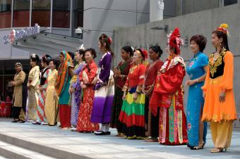 Asian Multicultural Fashion Show