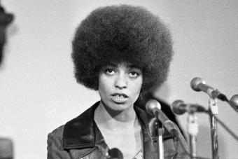 Angela Davis professor activist UCLA 1969