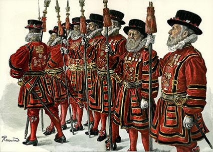 London's Yeoman of the Guard