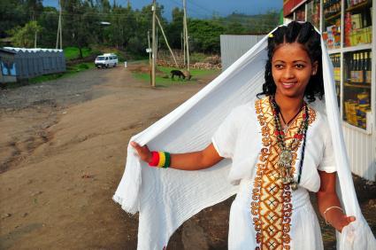 Amharic woman
