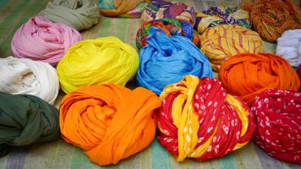 Colorful turbans