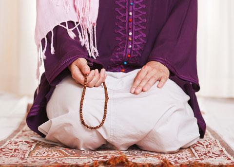 A-line Empire waist dress Dress Muslim women adult clothing dresses Islam muslim clothing for women