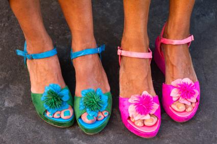 Flowery Sandals