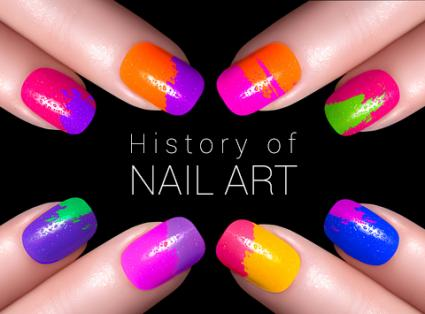 History of nail art lovetoknow history of nail art prinsesfo Images