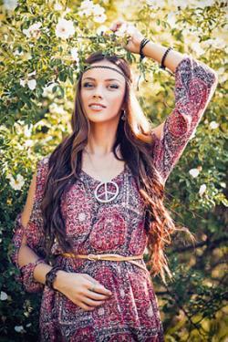 60's hippie dress