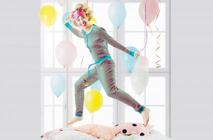Pajama morning