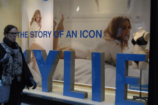 KYLIE billboard