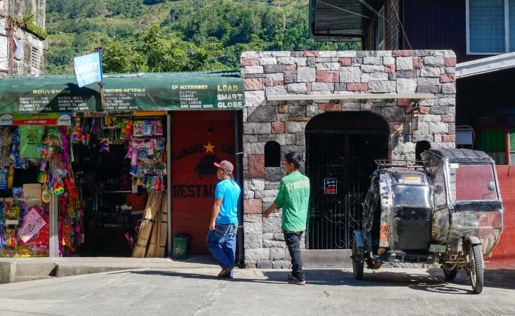 People at market in Ifugao