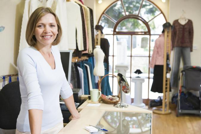 Owner of a boutique