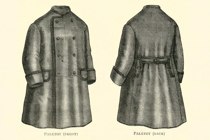 Paletot jacket