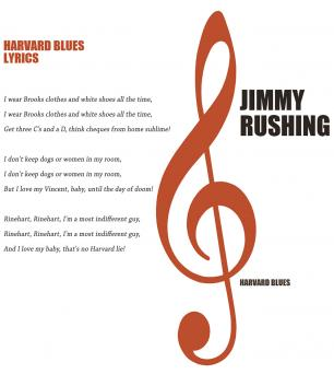 Harvard Blues lyrics