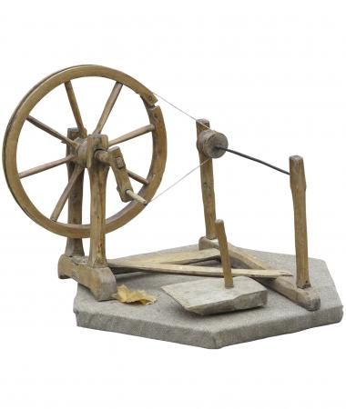 ancient spinning wheel