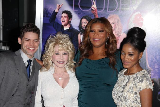 Dolly Parton, Jeremy Jordan, Keke Palmer, Queen Latifah