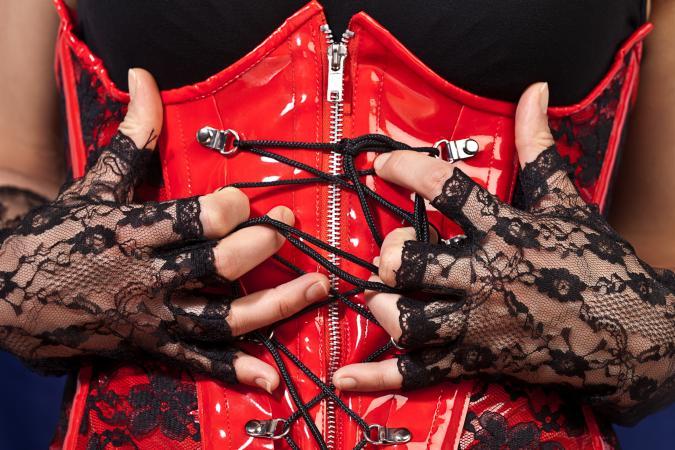 Fetish corset