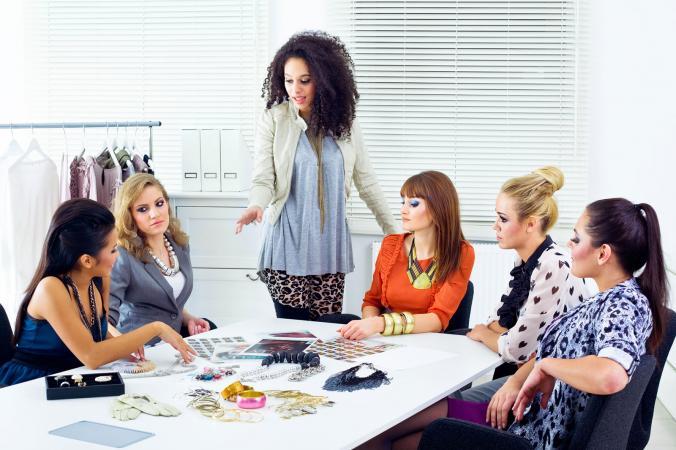 Fashion meeting