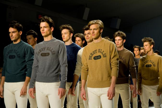 Perry Ellis Runway NYC
