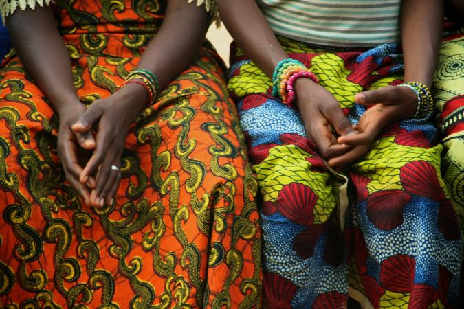 Traditional Senegalese fabrics