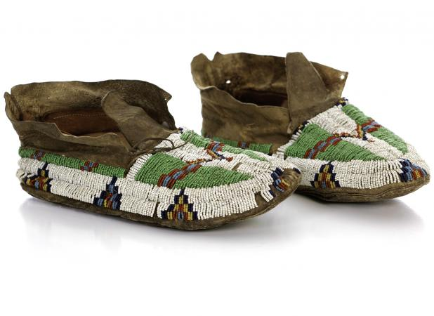 Antique moccasins