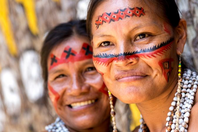 Native Brazilian women