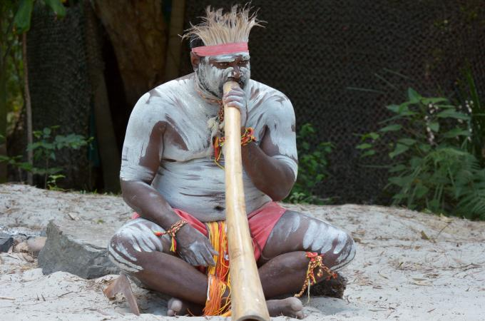 Aboriginal performer