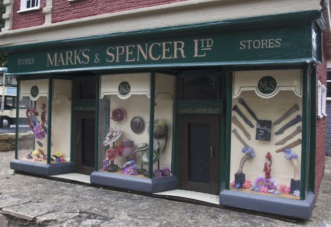 Marks and Spencer shop
