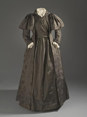 Liberty and Company tea gown c. 1887