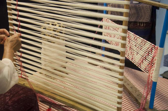 ikat production