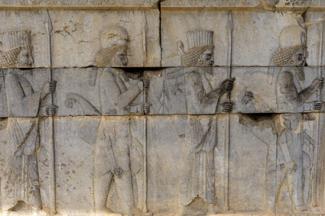 Ruins of Persépolis. Fars Province. Iran