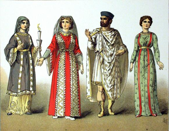 Europe And America History Of Dress 400 1900 CE
