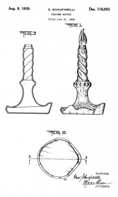 Patent for Sleeping perfume bottle