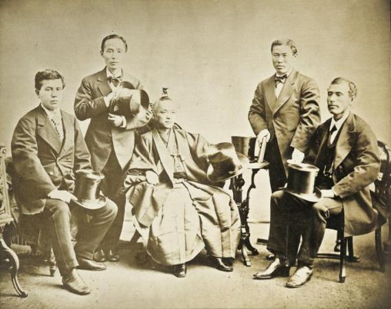 leading members of the Iwakura-mission