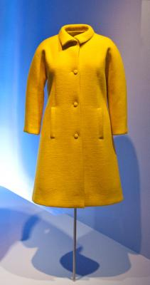 Balenciaga yellow coat