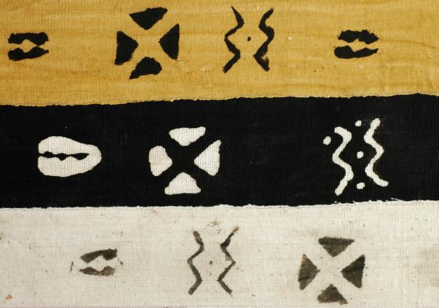 Traditional bogolan fabric