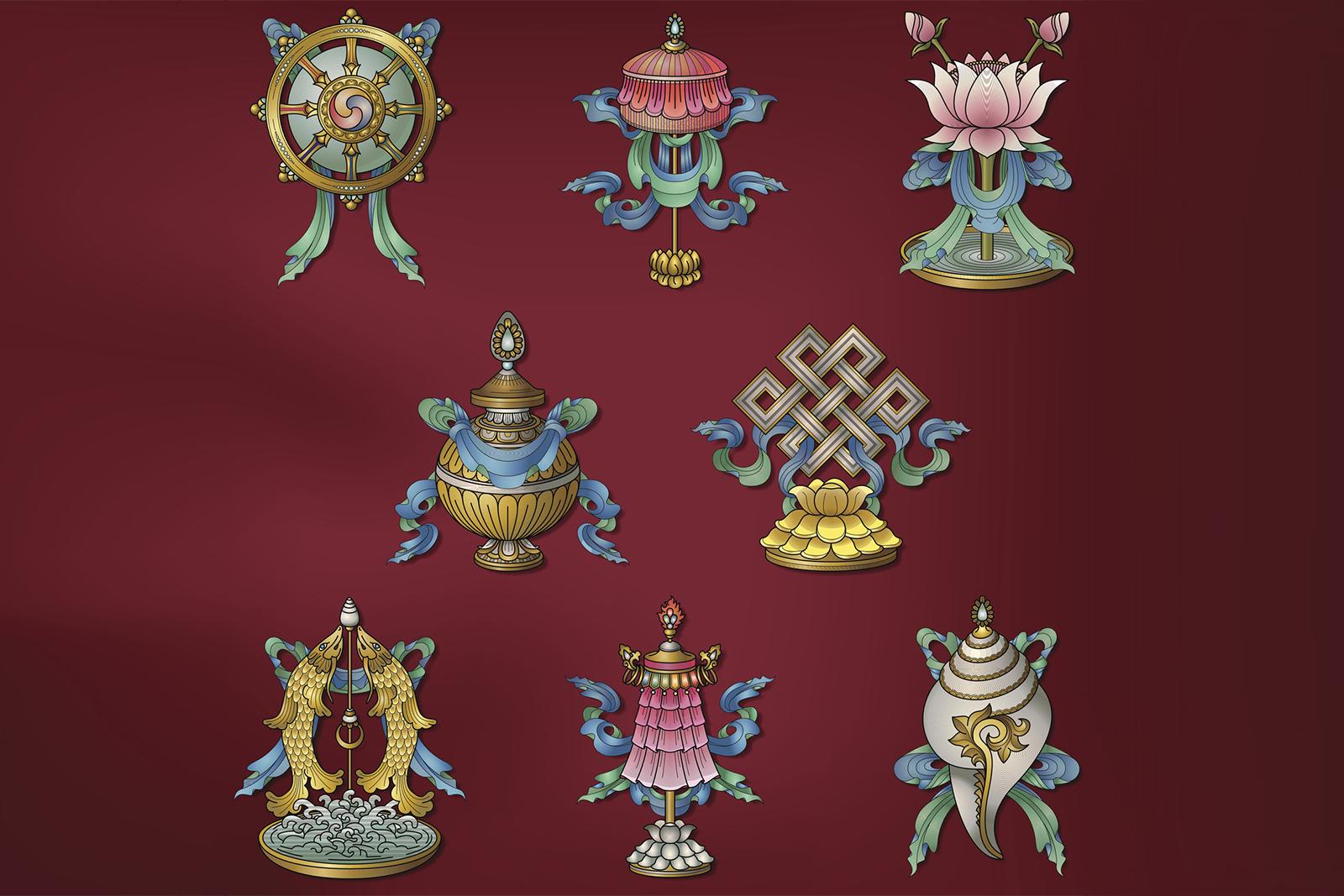 8 Auspicious Symbols In Feng Shui