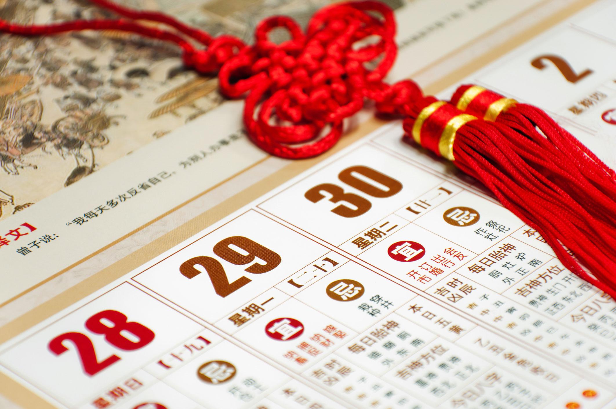 Calculators, calculations, calendars Feng Shui: a selection of sites