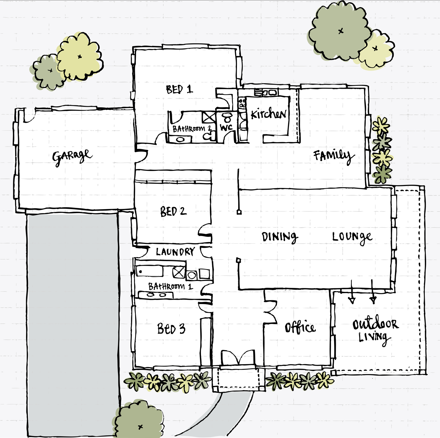 Using Feng Shui Bagua Maps On Difficult Floor Plans Lovetoknow