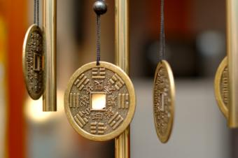 Metal Chinese coins remedy sha chi